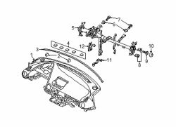 Mazda CX-3 Left Support bracket | Mazda OEM Part Number DB2H-60-450