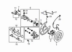 Mazda CX-9 Right Adjust motor mount kit | Mazda OEM Part Number KAY0-26-44Z