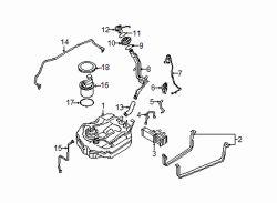 Mazda BAR7-42-21XD Fuel Tank Filler Neck
