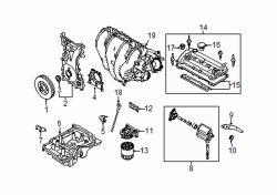 Genuine Mazda L538-13-100C Inlet Manifold