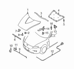Mazda RX-8  Insulator | Mazda OEM Part Number F151-56-681A
