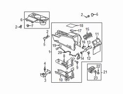 Mazda 5 Right Seat heat switch | Mazda OEM Part Number CD84-66-420-02