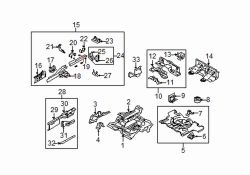 Mazda 5 Right Side reinf | Mazda OEM Part Number C235-53-916