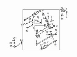 Mazda CX-7  Yoke assy | Mazda OEM Part Number EG23-32-11X