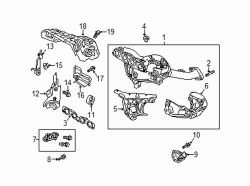 Mazda CX-5  Front shield | Mazda OEM Part Number PE01-13-381B