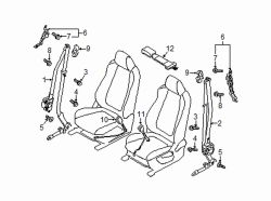 Mazda CX-5 Left Extension | Mazda OEM Part Number LDY2-57-63X
