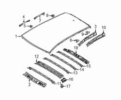 Mazda CX-5  Reinforcement | Mazda OEM Part Number KD53-70-66X