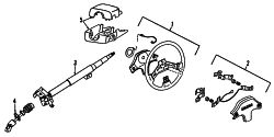 Mazda 323  STEERING WHEEL | Mazda OEM Part Number BR71-32-980B
