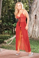 Long Gown With Matching G-String * 772