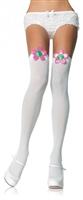 Flower Thigh Highs * 6115