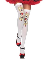 Royal Scroll Thigh Highs * 6215