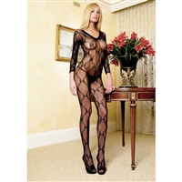 Lace Long Sleeves Body Stocking * 8045