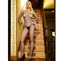 Net Open Crotch Bodystocking * 8380
