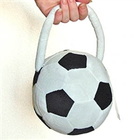 Plush Soccer Ball Purse * A1025
