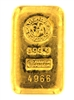 Argor S.A Chiasso 100 Grams Cast 24 Carat Gold Bullion Bar 999.9 Pure Gold