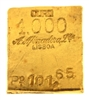 A. Afinadora Portugal 101,65 Grams 24 Carat Gold Bullion Bar 999.9/1000 Pure Gold