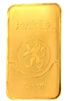 Bank Leu, Zurich 100 Grams Minted 24 Carat Gold Bullion Bar 999.9 Pure Gold