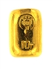 State Refineries - CCCP 10 Grams Cast 24 Carat Gold Bullion Bar 999.9 Pure Gold