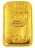 Famiao Portugal 100,1 Grams Cast 24 Carat Gold Bullion Bar 999.9/1000 Pure Gold