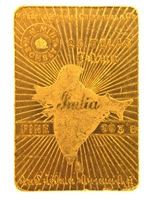 H.M Mint Bombay 25 Tolas (291.5 Gr.) 24 Carat Gold Bullion Bar 993.8 Pure Gold