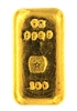 J. A. REY & Co 100 Grams Cast 24 Carat Gold Bullion Bar 999.9 Pure Gold