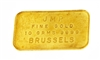 Johnson Matthey & Pauwels 10 Grams Minted 24 Carat Gold Bullion Bar 999.9 Pure Gold