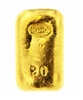 Johnson Matthey & Pauwels 20 Grams Cast 24 Carat Gold Bullion Bar 999.9 Pure Gold