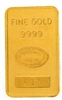 Johnson Matthey & Pauwels - Banque Générale 10 Grams Minted 24 Carat Gold Bullion Bar 999.9 Pure Gold