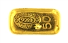 Johnson Matthey & Pauwels 50 Grams Cast 24 Carat Gold Bullion Bar 999.9 Pure Gold