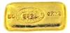 Johnson Matthey - J.M & CO. ASSAY OFFICE - 50 Grams Cast 24 Carat Gold Bullion Bar 999.9 Pure Gold