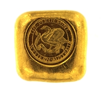 The Perth Mint 1 Ounce Cast 24 Carat Gold Bullion Bar 999.9 Pure Gold