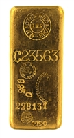 N.M Rothschild & Sons - R. Dussaix - Mocatta & Goldsmid Ltd - 1 Kilogram Cast 24 Carat Gold Bullion Bar 995.0 Pure Gold