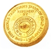 N.M Rothschild & Sons (1954) - Tangiers - 500 Dirhams - 1 Ounce 22 Carat Gold Bullion Round 916.7 Pure Gold