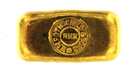N.M Rothschild & Sons 1 Ounce Cast 24 Carat Gold Bullion Bar 995.0 Pure Gold