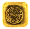 N.M Rothschild & Sons 50 Grams Cast 24 Carat Gold Bullion Bar 999.9 Pure Gold