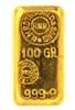 N.M Rothschild & Sons - Mocatta & Goldsmid Ltd - 100 Grams Cast 24 Carat Gold Bullion Bar 999.9 Pure Gold
