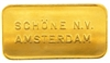 Schöne Edelmetaal 20 Grams Minted 24 Carat Gold Bullion Bar 999.9 Pure Gold