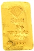 Safra 50 Grams Cast 24 Carat Gold Bullion Bar 999.9 Pure Gold