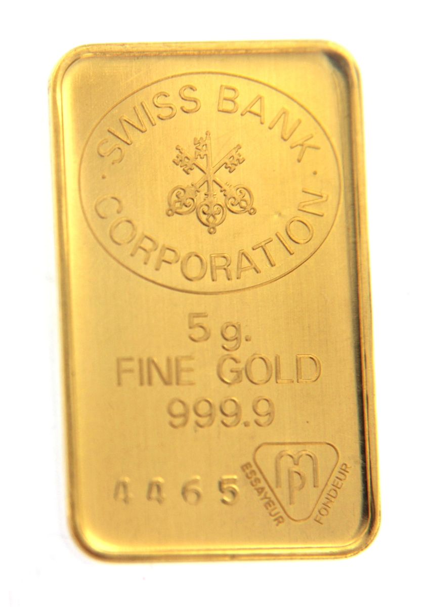 10 GRAlN Gold Bar 24k FINE 999.9 Pure 24 Karat GoldBarren