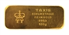 Thurn & Taxis Edelmetalle 100 Grams 24 Carat Gold Bullion Bar 999.9 Pure Gold