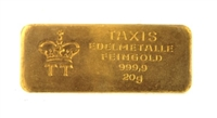 Thurn & Taxis Edelmetalle 20 Grams 24 Carat Gold Bullion Bar 999.9 Pure Gold