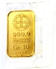 union bank of switzerland gold bar