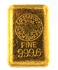 1946 US Assay Office New York 24.32 Ounces Cast 24 Carat Gold Bullion Bar 999.6 Pure Gold