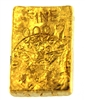 1956 US Assay Office New York 5.46 Ounces Cast 24 Carat Gold Bullion Bar 999.7 Pure Gold