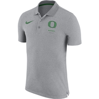Oregon Ducks Nike NK Solid Polo Gray