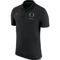 Oregon Ducks Nike NK Solid Polo Anthracite
