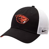Oregon State Beavers Nike Meshback Trucker Hat Black