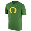 Oregon Ducks Nike Dri-FIT Logo Tee Apple Green