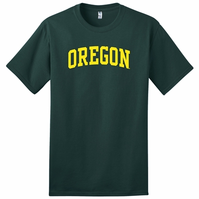 Oregon Ducks Classic Arched T-Shirt - Green