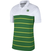 Oregon Ducks Nike Color Block Stripe Polo White